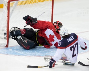photo by Ken King USA defeats Canada and moves on to defend their gold medal against Russia
