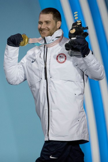 Mike with his Gold Medal